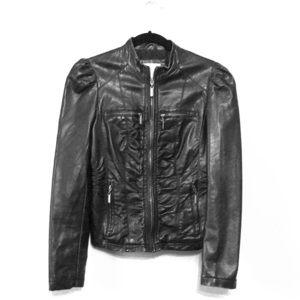 Jackets & Blazers - Faux Black Leather Jacket